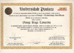 DiplomaPós Graduação - BucoMaxiloFacial