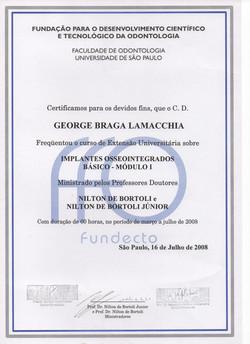 Diploma_Curso_Implantes_Osseointegrados
