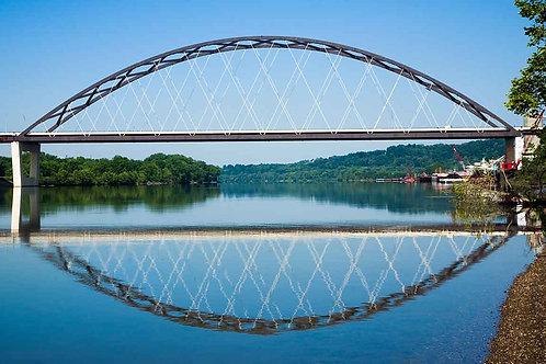 Landmark : Blennerhasset Bridge