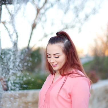 Marissa in park