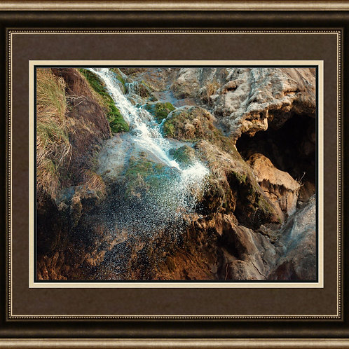 Waterfall - Framed/Matted