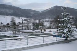 Freibad im Winter