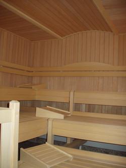 kleine Finnische Sauna