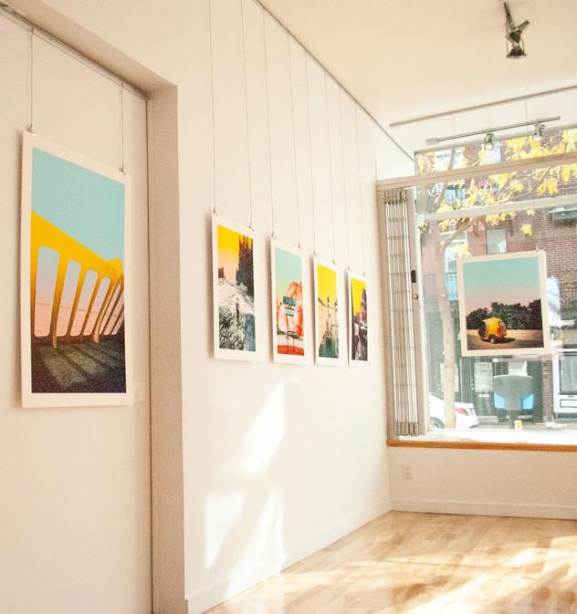 UNE+UNE - Collaborative Exhibition