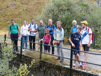 Trekking Familiar en Canseco