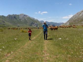 Trekking Familiar en Villafeliz de Babia