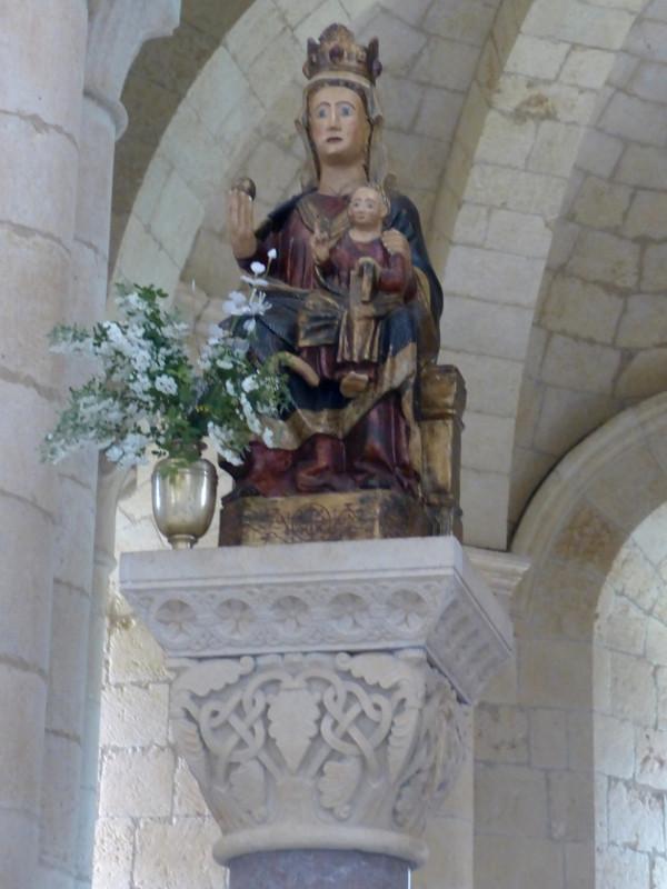 Virgen de Santa María de Gradefes