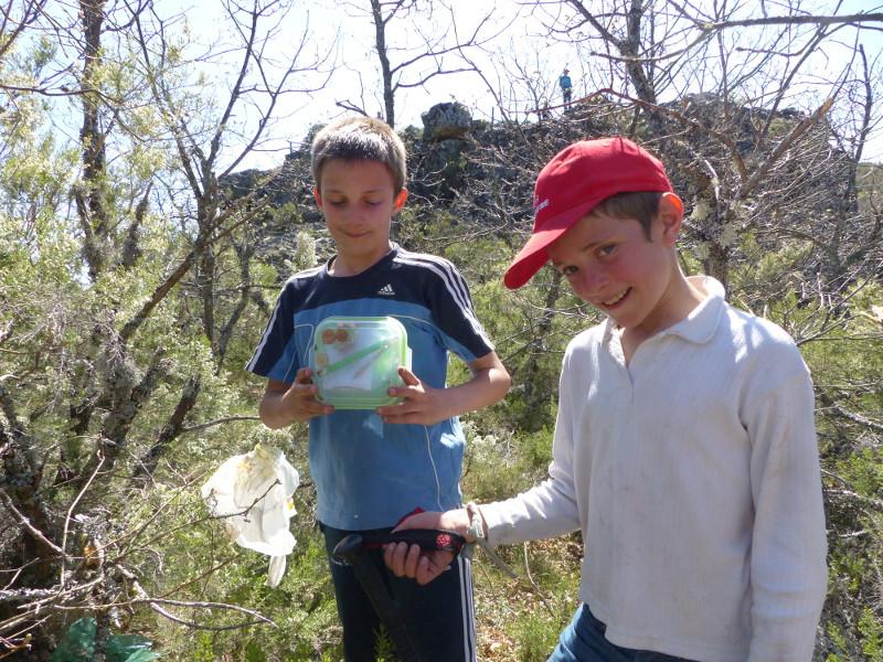 Descubierto el geocaching