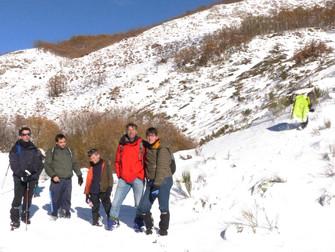 Belén de cumbres de Jóvenes Montañeros