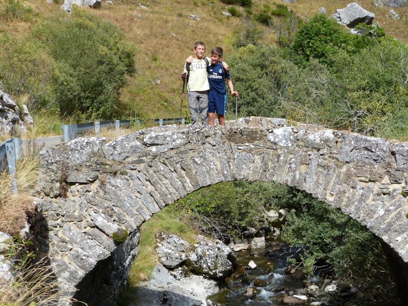 Sobre puente romano
