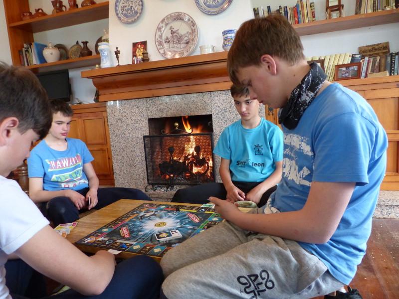 Jugando al Monopoly