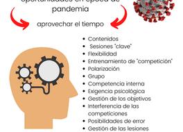 COVI-19 y entrenamiento: oportunidades en época de pandemia