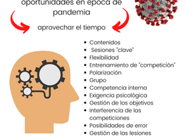 COVID-19 y entrenamiento: oportunidades en época de pandemia