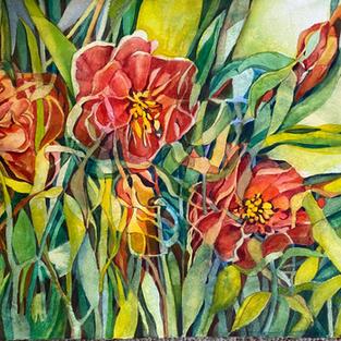 """""""Captive Summer"""", Margaret Hafer (Watercolor)"""