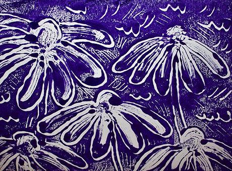 Nature in the Arts_Coneflower_Monotype_002.jpg