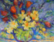 AB00092 HQnf - yellow dafs, red tulips.j