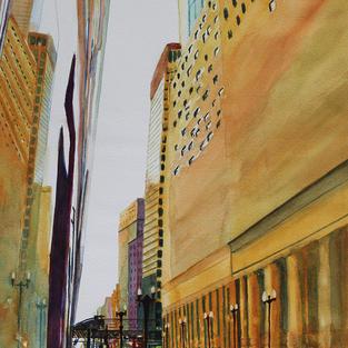 """""""AfterTheRain"""", Dina Heijselaar (Watercolor)"""