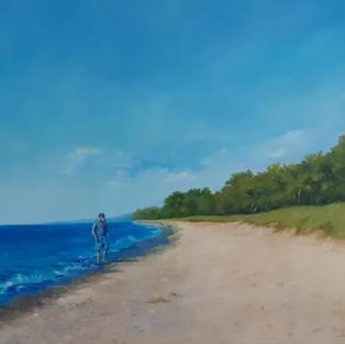 """Solo"", Jane Crowley (Oil on Canvas)"
