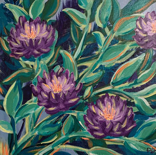 """""""We Will Bloom Again"""", Paige Dickey (Acrylic on Canvas)"""