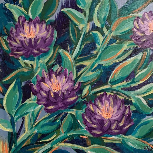 """We Will Bloom Again"", Paige Dickey (Acrylic on Canvas)"
