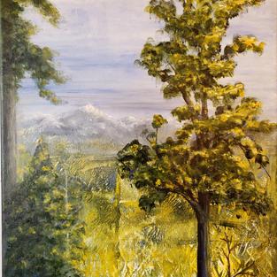 """Out Yonder"", Denise Kirkland (Acrylic Paint)"