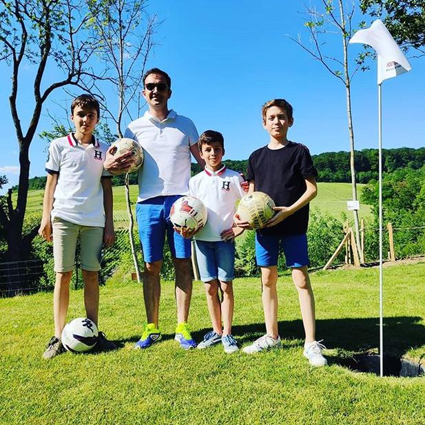 Journée en famille au Footgolf Parc en Champagne