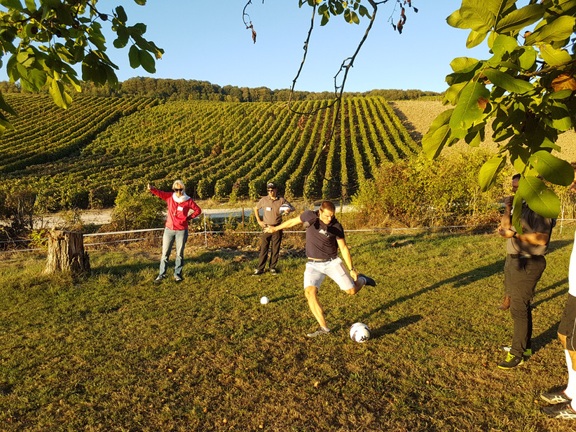 Séminaire au footgolf Parc en Champagne