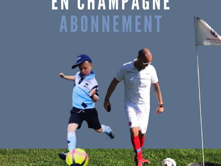 L'abonnement du Footgolf Parc en Champagne