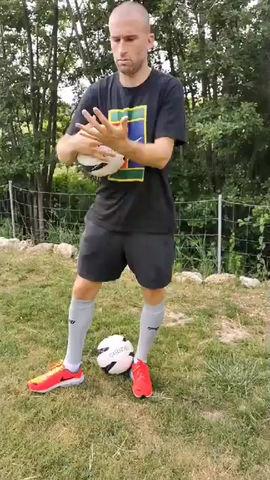 Lucas Deaux est venu tester le Footgolf sur notre parcours ! Voici son interview :