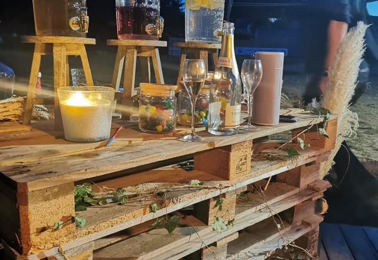Cocktail au Footgolf Parc en Champagne
