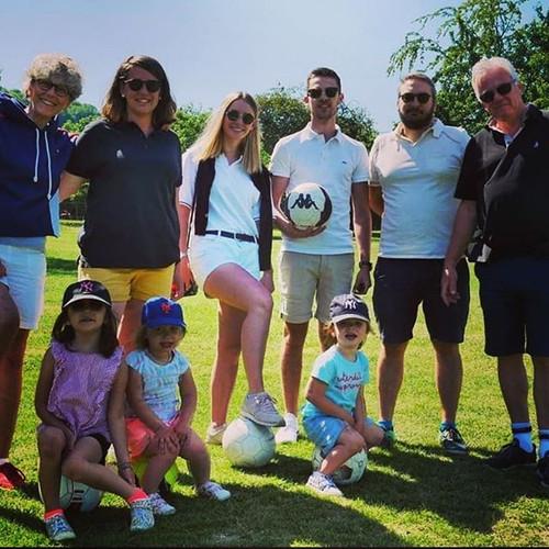 Footgolf en famille au @footgolfparcench