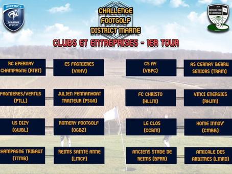Challenge Footgolf Club et Entreprises du District Marne de Football