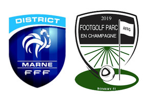 Association entre le Footgolf Parc en Champagne et le District Marne