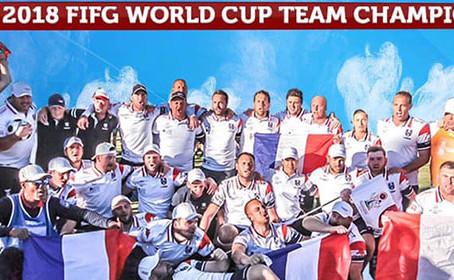 La France Championne du Monde de Footgolf