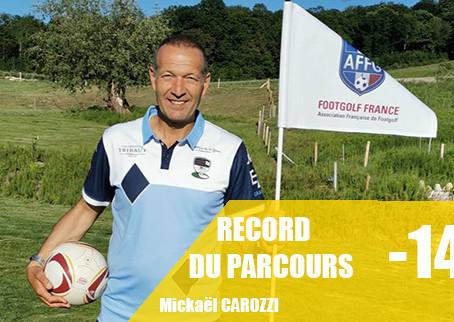Nouveau record du parcours !!