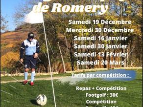 La Winter Footgolf Trophy de Romery ❄️