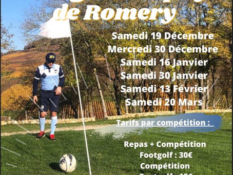 La Winter Footgolf Trophy de Romery ❄️