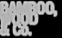 BAMBOO WOOD CO