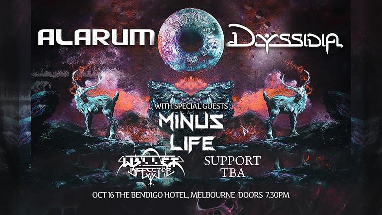 Alarum & Dyssidia Album Launch Tour