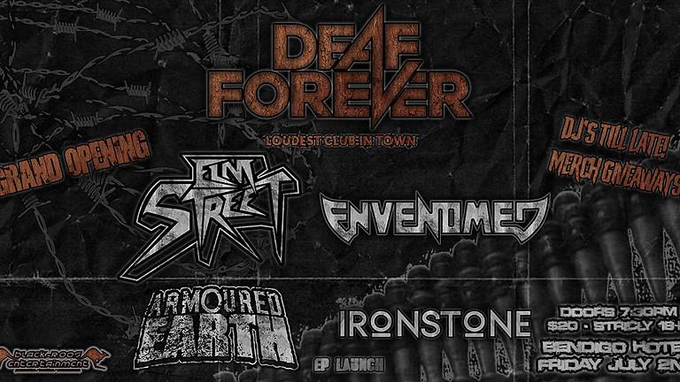 DEAF FOREVER Nightclub - Grand opening