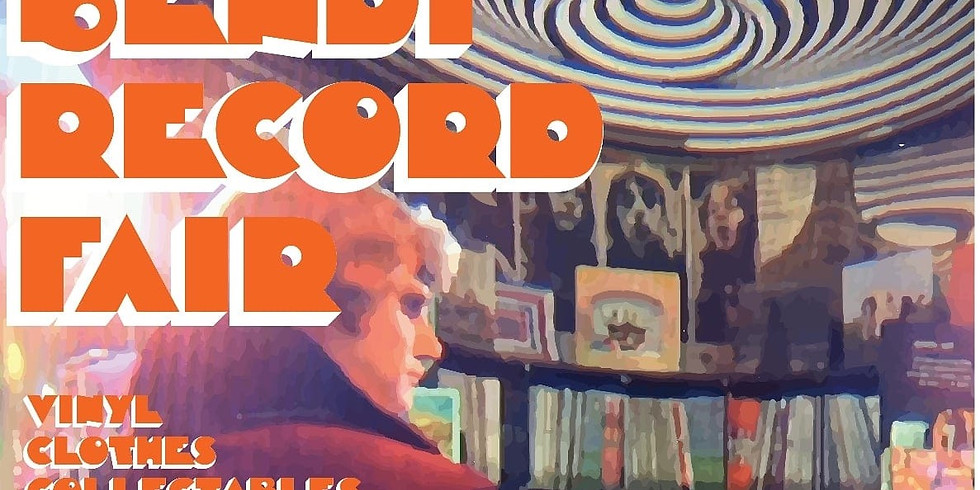 **NEW DATE**  Bendi Record Fair brought to you by Disdain Records