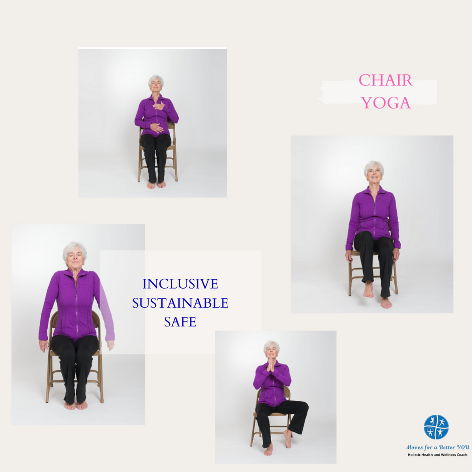 Unable to get to the floor? - Chair Yoga is for you!