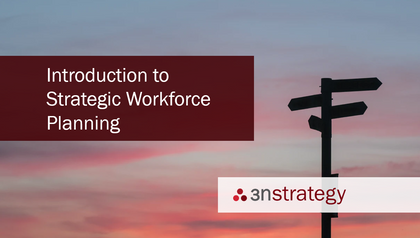 Introduction to Strategic Workforce Planning