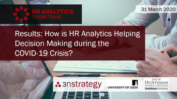 How si HR Analytics Helping Decision Maing during the COVID Crisis Part 1