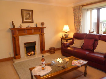 feature fireplace to relax beside
