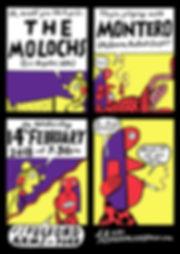 The Molochs x Montero Poster