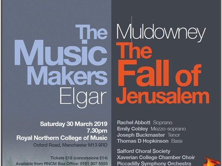 Salford Choral Society March 2019