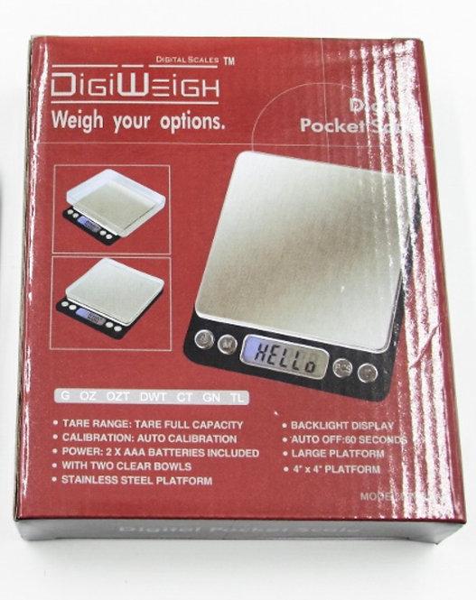 DIGIWEIGH Digital Pocket Scale DW-500T-/2000T