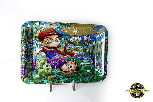 Mario and Luigi Rolling Tray