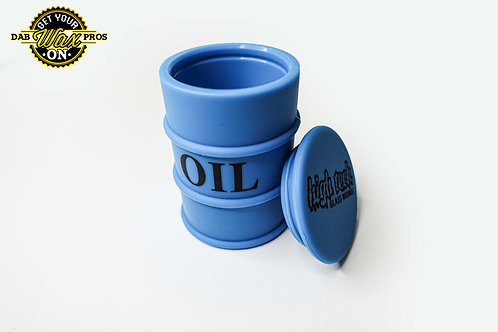 Oil Barrel Silicone Container Color Varies